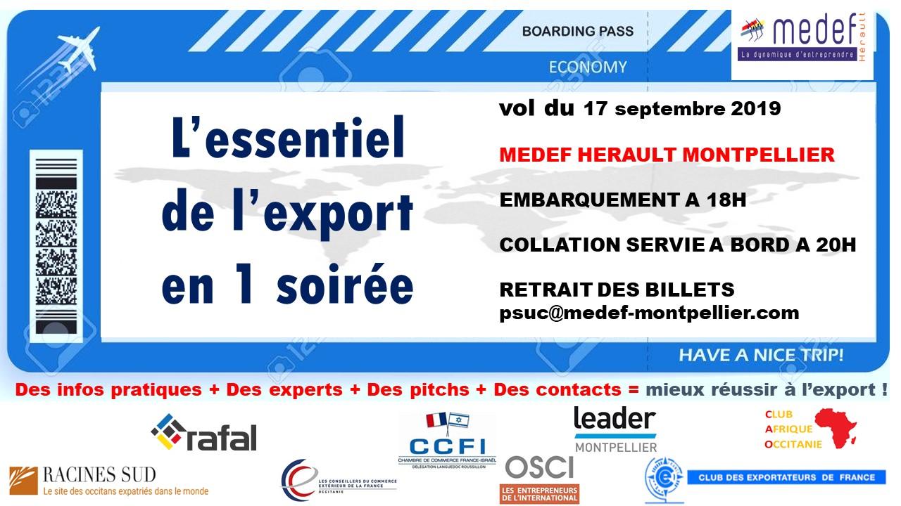 Soirée Export MEDEF