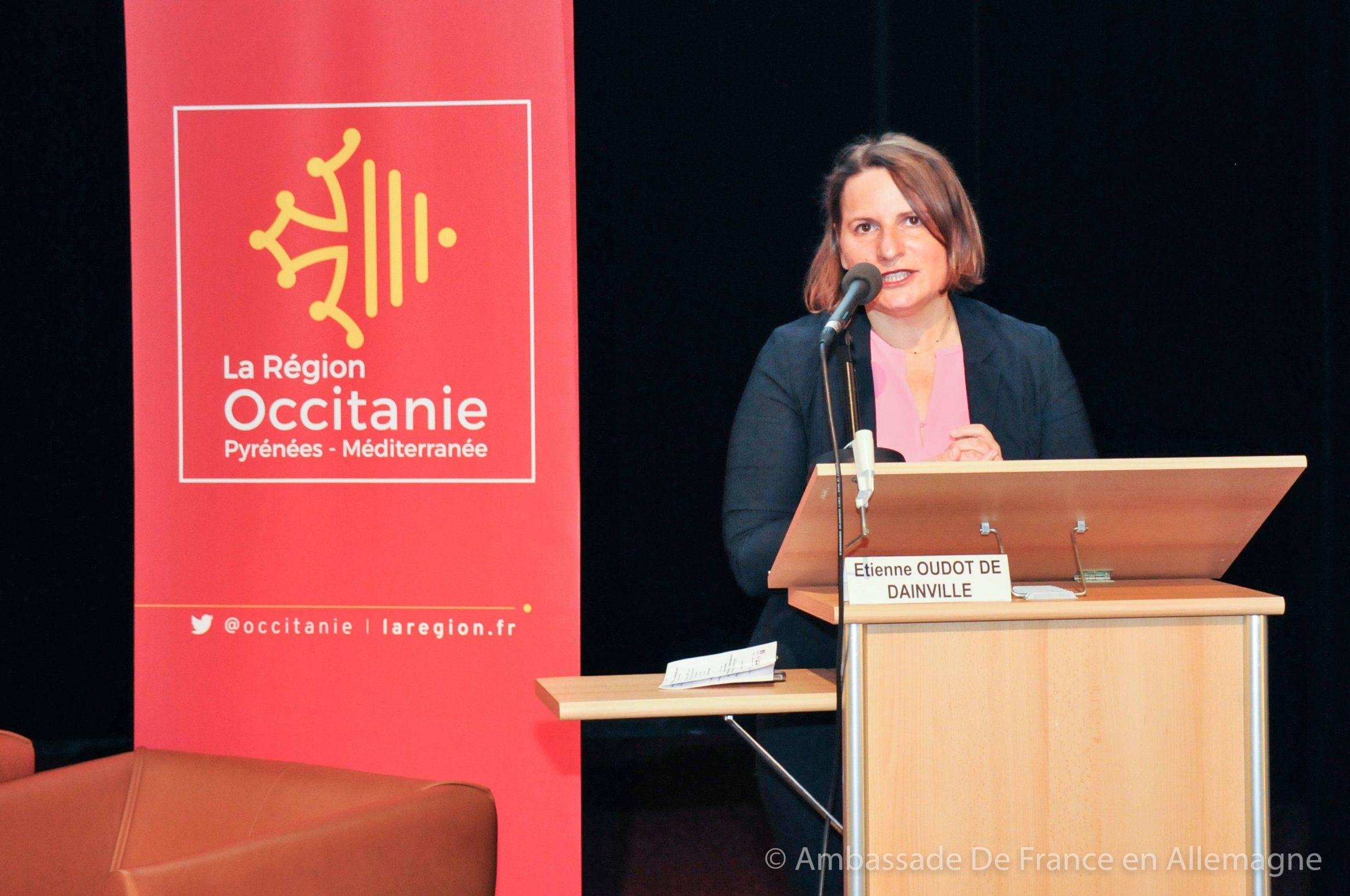 Valérie Rabault - Ambassade de France - Quinzaine franco-allemande d'Occitanie